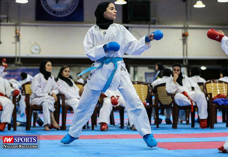 آویشن باقری 5 آویشن باقری در هفته دوم سوپر لیگ کاراته بانوان (تصاویر)