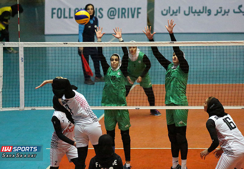 اکسون تهران صفر ذوب آهن اصفهان 3 گزارش تصویری | دیدار اکسون و ذوب آهن در هفته چهارم لیگ برتر والیبال بانوان