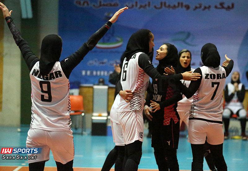 تیم اکسون تهران هفته پنجم لیگ برتر والیبال بانوان | پیروزی ذوب آهن، اکسون تهران و ستارگان فارس