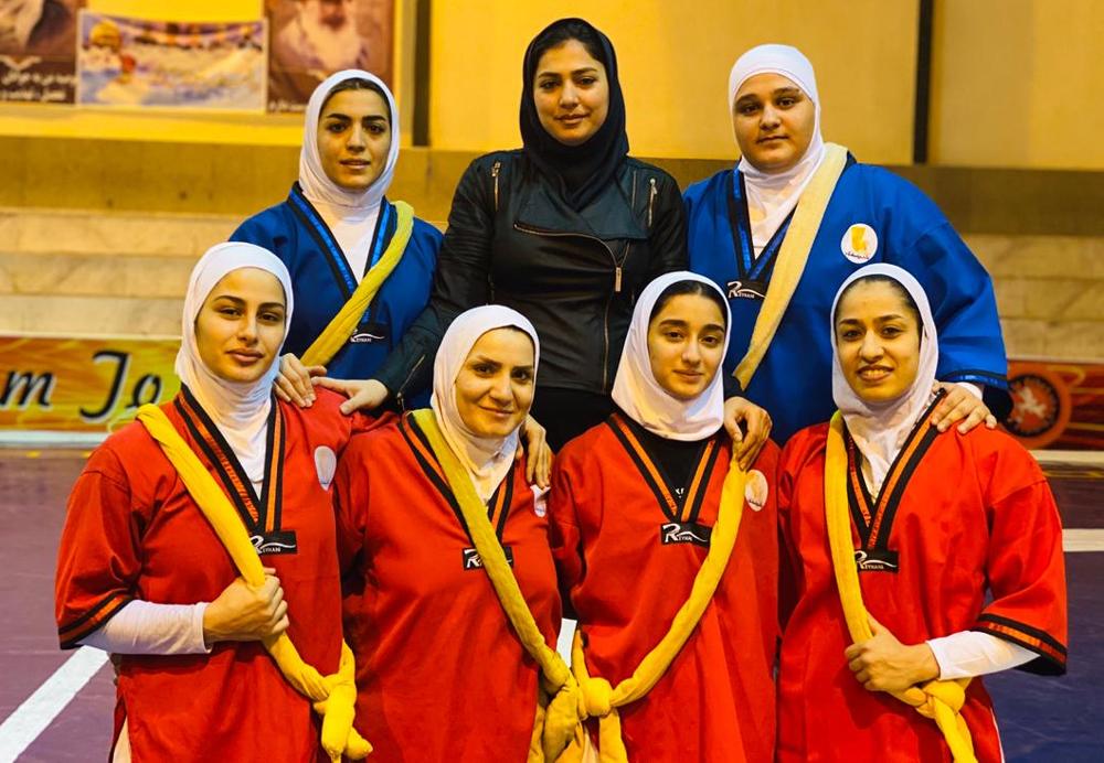 تیم ملی کشتی آلیش بانوان قهرمان جهان شد