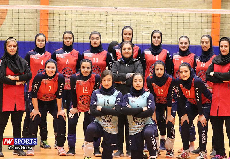 تیم والیبال بانوان هلدینگ اطلس تهران گزارش تصویری | دیدار اطلس و سایپا در هفته سوم لیگ برتر والیبال بانوان (1)