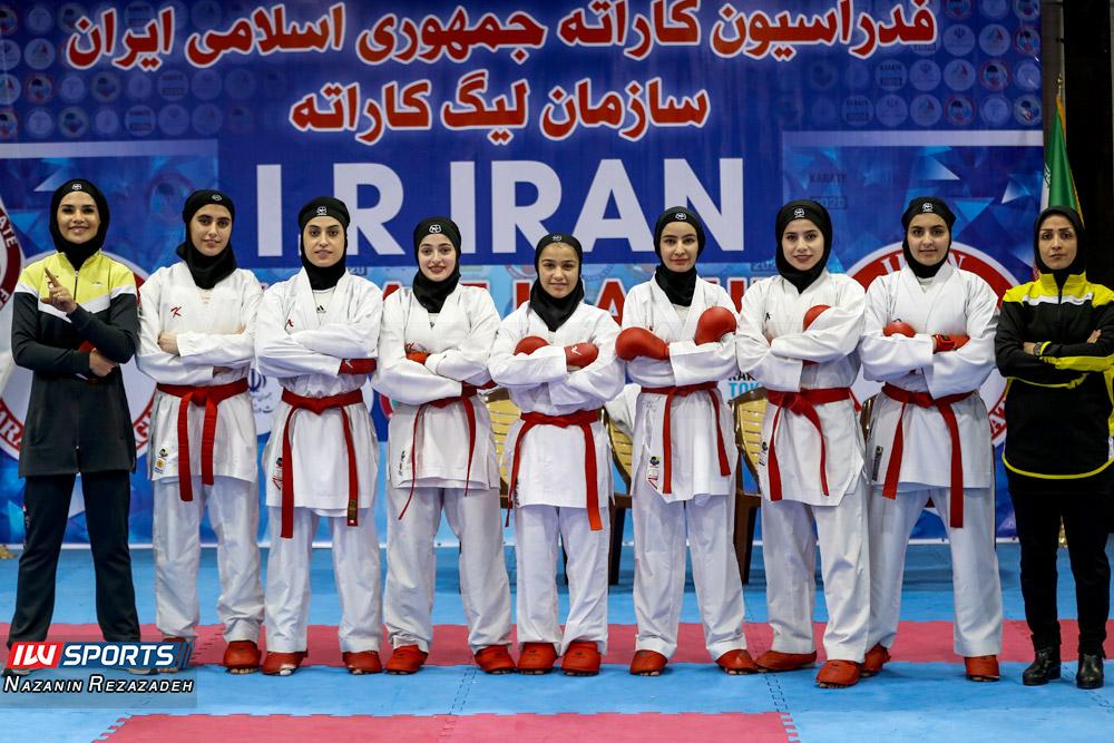 تیم کاراته بانوان شهرداری سمنان گزارش تصویری | مبارزات کومیته هفته سوم سوپرلیگ کاراته بانوان
