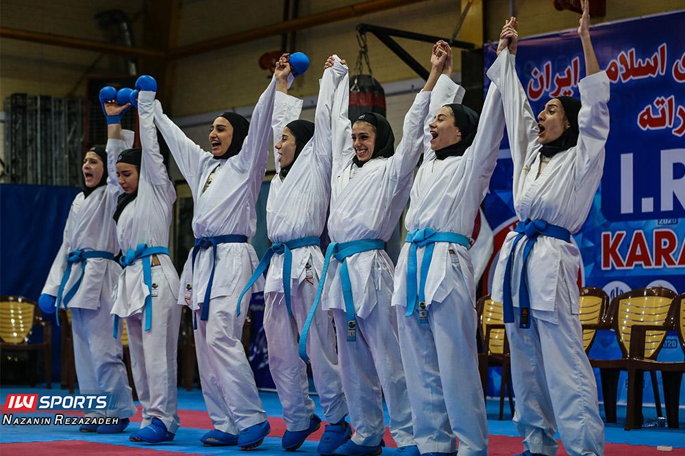 دانشگاه آزاد قهرمان سوپرلیگ کاراته زنان شد