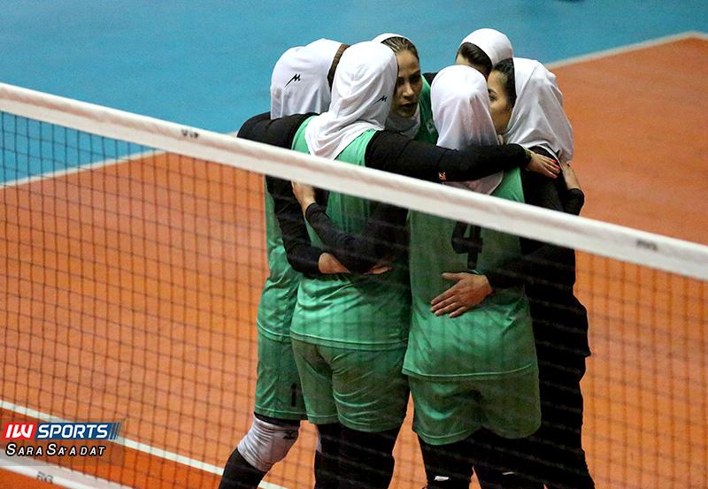 هفته پنجم لیگ برتر والیبال بانوان | پیروزی ذوب آهن، اکسون تهران و ستارگان فارس