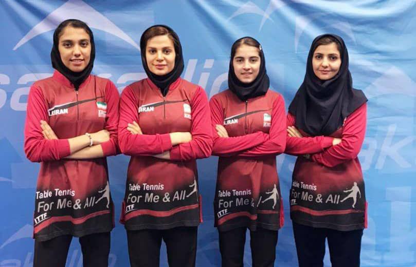 ایرانمنش، سرافراز و رنجبر مربیان تیمهای ملی تنیس روی میز شدند