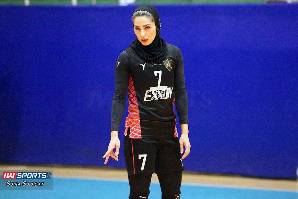 دیدار اطلس و اکسون تهران در لیگ برتر والیبال بانوان 10 1000x667 گزارش تصویری   دیدار تیمهای اطلس و اکسون در لیگ برتر والیبال بانوان