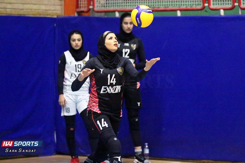 دیدار اطلس و اکسون تهران در لیگ برتر والیبال بانوان 11 1000x667 گزارش تصویری   دیدار تیمهای اطلس و اکسون در لیگ برتر والیبال بانوان