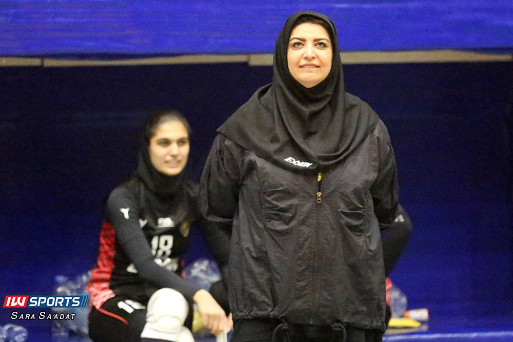 دیدار اطلس و اکسون تهران در لیگ برتر والیبال بانوان 22 1000x667 گزارش تصویری   دیدار تیمهای اطلس و اکسون در لیگ برتر والیبال بانوان
