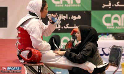 زهرا پوراسماعیل محبوبه محمدنژاد 400x240 گزارش تصویری | مسابقات ورود به اردوی تیم ملی تکواندو
