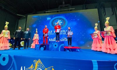 فاطمه فتاحی در مسابقات جهانی کشتی آلیش 400x240 زهرا یزدانی و فاطمه فتاحی در مسابقات جهانی کشتی آلیش صاحب مدال شدند