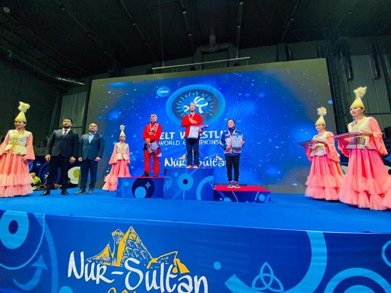 زهرا یزدانی و فاطمه فتاحی در مسابقات جهانی کشتی آلیش صاحب مدال شدند