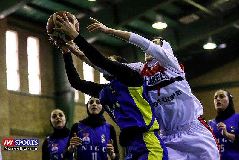 هفته چهارم لیگ برتر بسکتبال بانوان | شکست عجیب مشهدی ها در آبادان و خط و نشان بهمن