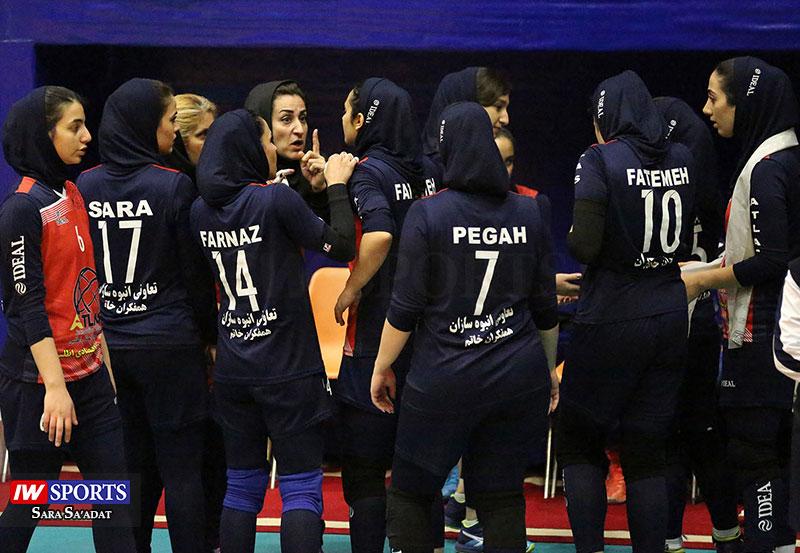 لیگ برتر والیبال بانوان سایپا و هلدینگ اطلس تهران 40 گزارش تصویری | دیدار اطلس و سایپا در هفته سوم لیگ برتر والیبال بانوان (1)
