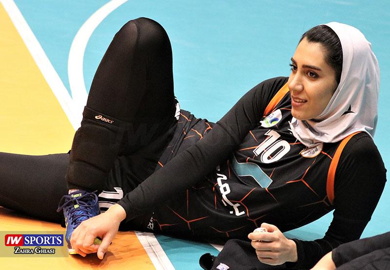 گلایههای والیبالی از زبان بانوی نارنجی | فاطمه حسنی : در کرمان کسی قدر ملی پوشها را نمیداند