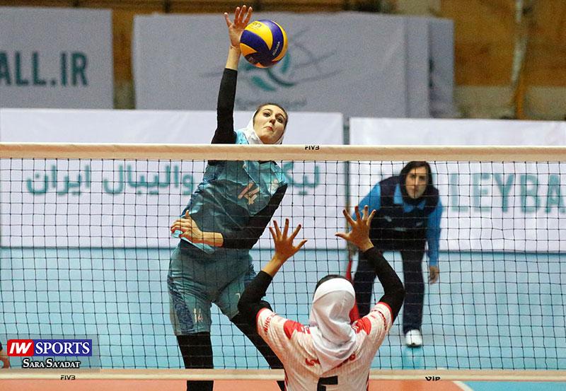 پیروزی پیکان برابر ستارگان فارس در لیگ برتر والیبال بانوان