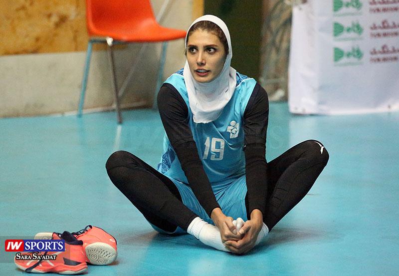 مهتاب رحمانی لیگ برتر والیبال بانوان - پیکان تهران و افق قم (37)