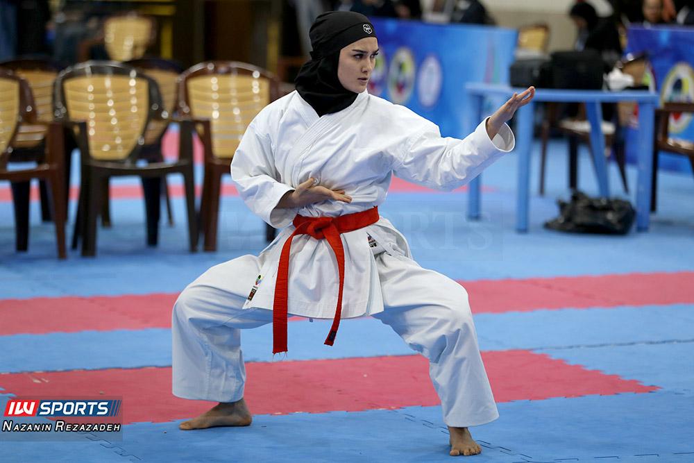 مسابقات کاتا سوپر لیگ کاراته بانوان 1 مسابقات کاتای هفته سوم سوپر لیگ کاراته بانوان به روایت تصویر