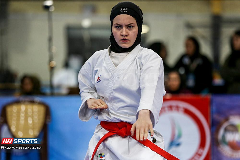 مسابقات کاتای هفته سوم سوپر لیگ کاراته بانوان به روایت تصویر