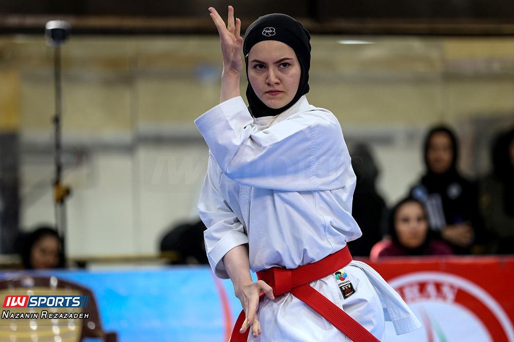 مسابقات کاتا سوپر لیگ کاراته بانوان 12 مسابقات کاتای هفته سوم سوپر لیگ کاراته بانوان به روایت تصویر