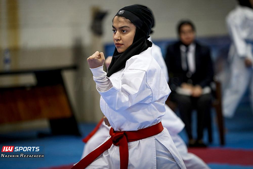 مسابقات کاتا سوپر لیگ کاراته بانوان 15 مسابقات کاتای هفته سوم سوپر لیگ کاراته بانوان به روایت تصویر
