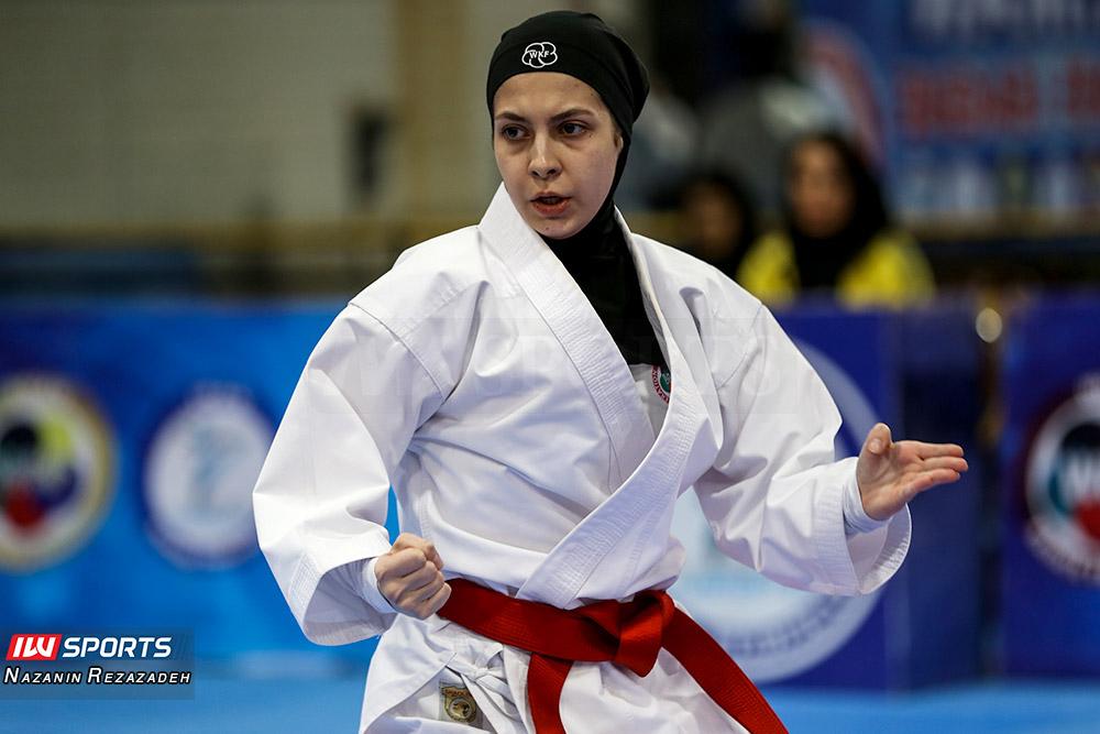 مسابقات کاتا سوپر لیگ کاراته بانوان 16 مسابقات کاتای هفته سوم سوپر لیگ کاراته بانوان به روایت تصویر