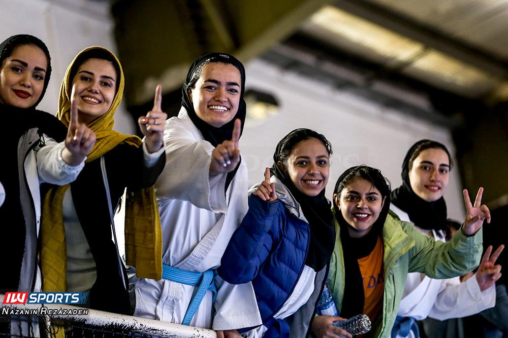 مسابقات کاتا سوپر لیگ کاراته بانوان 5 مسابقات کاتای هفته سوم سوپر لیگ کاراته بانوان به روایت تصویر