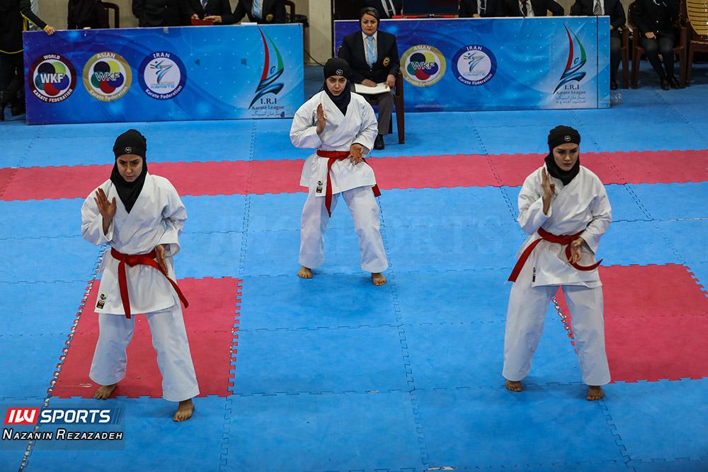 مسابقات کاتا سوپر لیگ کاراته بانوان 6 مسابقات کاتای هفته سوم سوپر لیگ کاراته بانوان به روایت تصویر
