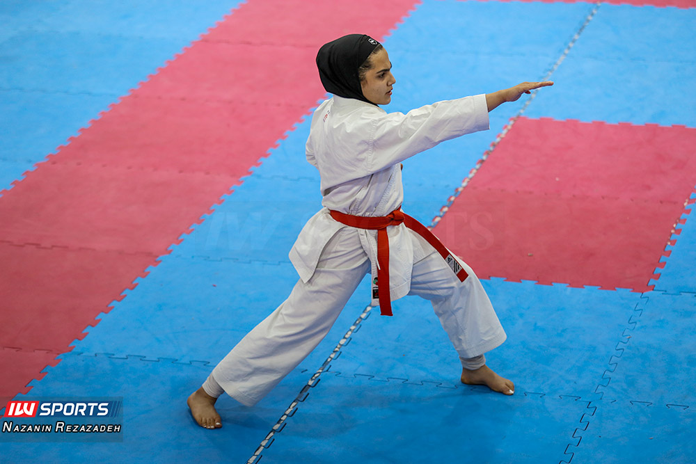 مسابقات کاتا سوپر لیگ کاراته بانوان 7 مسابقات کاتای هفته سوم سوپر لیگ کاراته بانوان به روایت تصویر