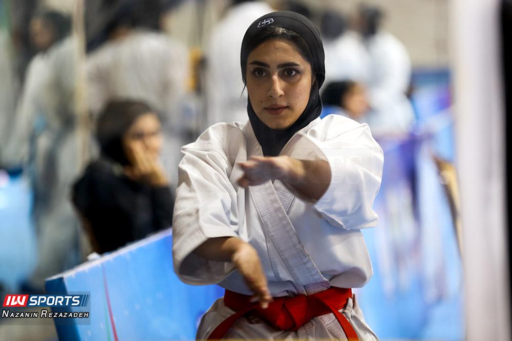 مسابقات کاتا سوپر لیگ کاراته بانوان 8 مسابقات کاتای هفته سوم سوپر لیگ کاراته بانوان به روایت تصویر