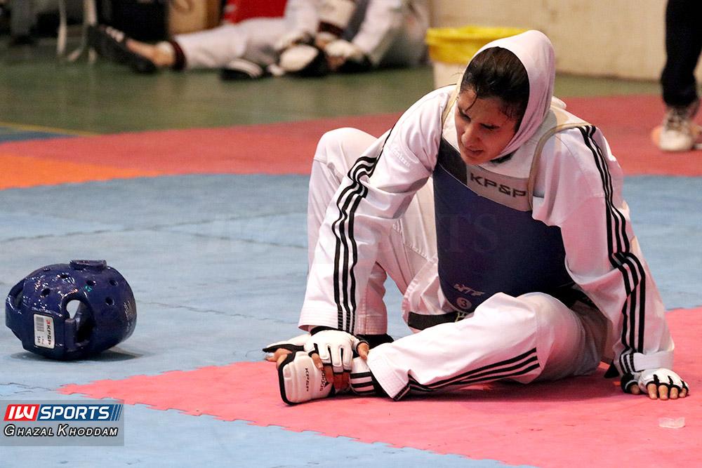 مصدومیت بد موقع هانیه بخشی در وزن پنجم انتخابی تیم ملی (تصویر)