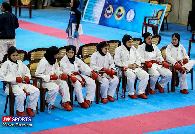 هفته دوم سوپر لیگ کاراته بانوان 25 گزارش تصویری   هفته دوم سوپر لیگ کاراته بانوان کشور