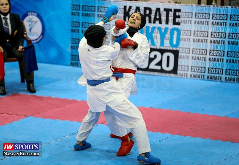هفته سوم سوپرلیگ کاراته بانوان | قهرمانی نیم فصل به دانشگاه آزاد رسید