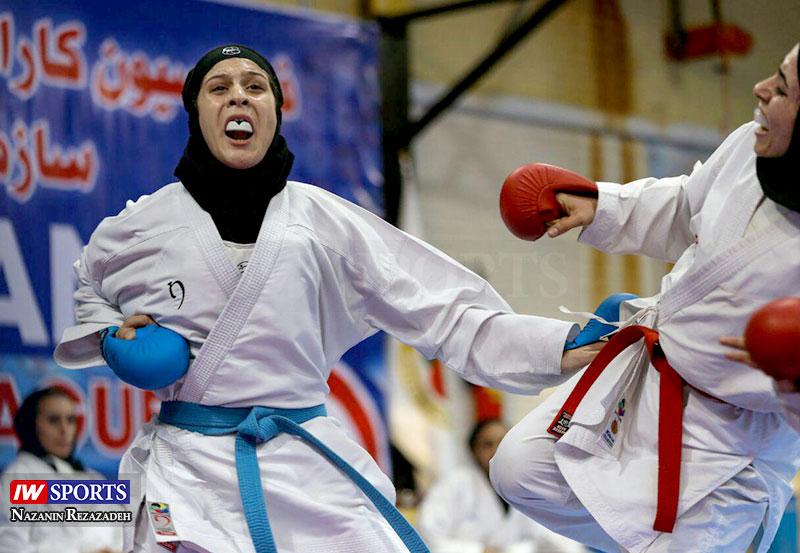 هفته دوم سوپر لیگ کاراته بانوان 6 گزارش تصویری   هفته دوم سوپر لیگ کاراته بانوان کشور