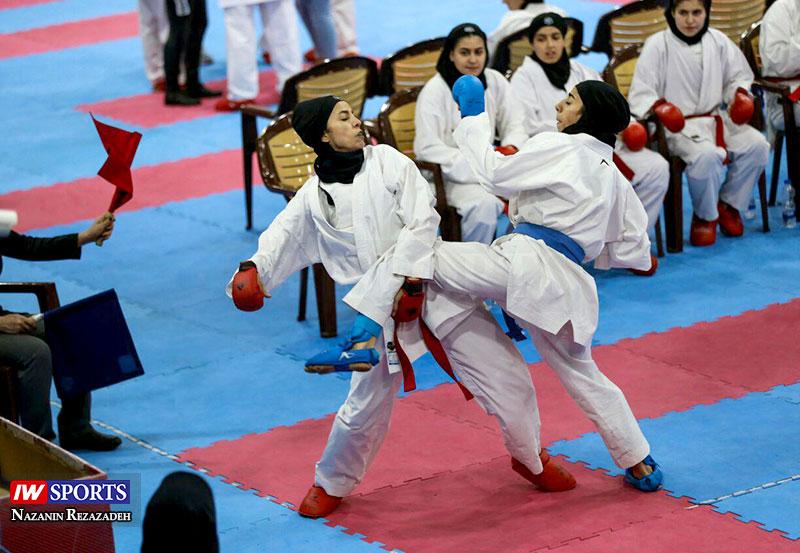 هفته دوم سوپر لیگ کاراته بانوان 8 گزارش تصویری   هفته دوم سوپر لیگ کاراته بانوان کشور