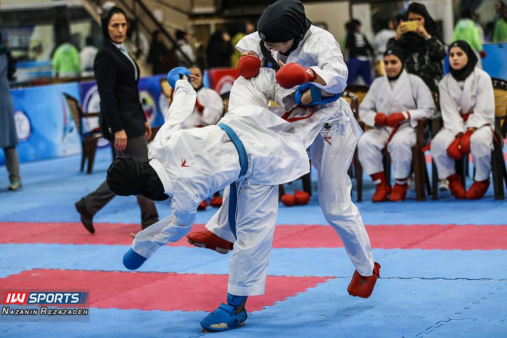 هفته سوم سوپر لیگ کاراته بانوان 12 گزارش تصویری | مبارزات کومیته هفته سوم سوپرلیگ کاراته بانوان