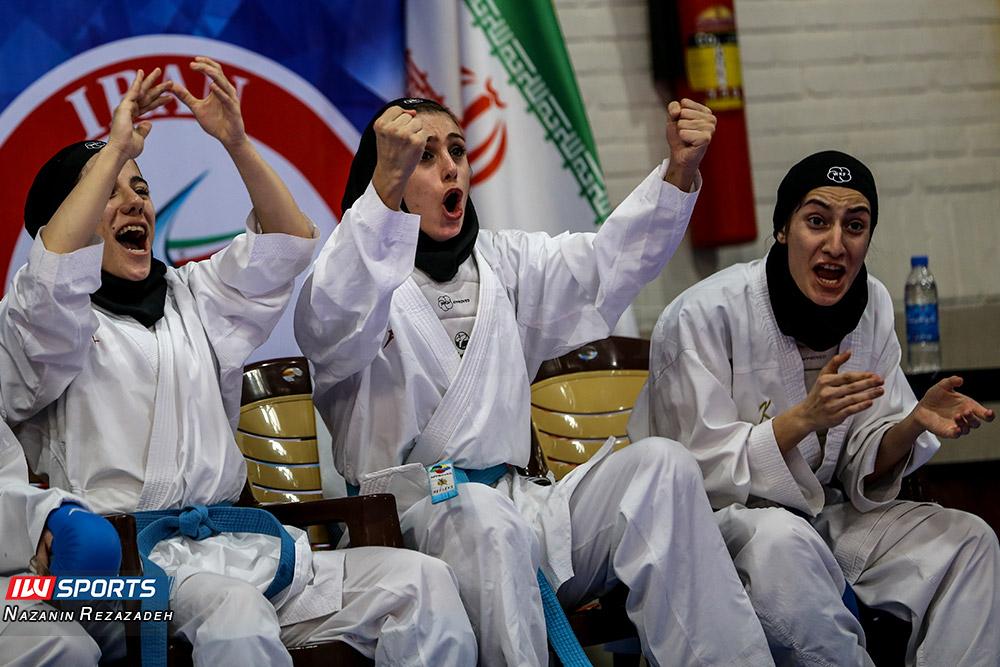 هفته سوم سوپر لیگ کاراته بانوان 15 گزارش تصویری | مبارزات کومیته هفته سوم سوپرلیگ کاراته بانوان