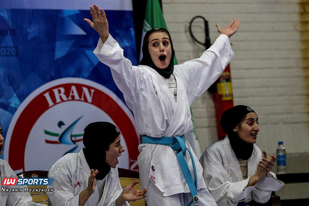 هفته سوم سوپر لیگ کاراته بانوان 16 گزارش تصویری | مبارزات کومیته هفته سوم سوپرلیگ کاراته بانوان