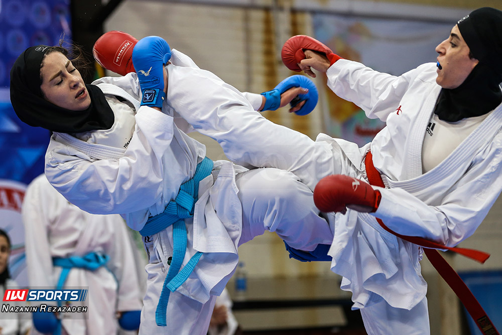 هفته سوم سوپر لیگ کاراته بانوان 17 گزارش تصویری | مبارزات کومیته هفته سوم سوپرلیگ کاراته بانوان