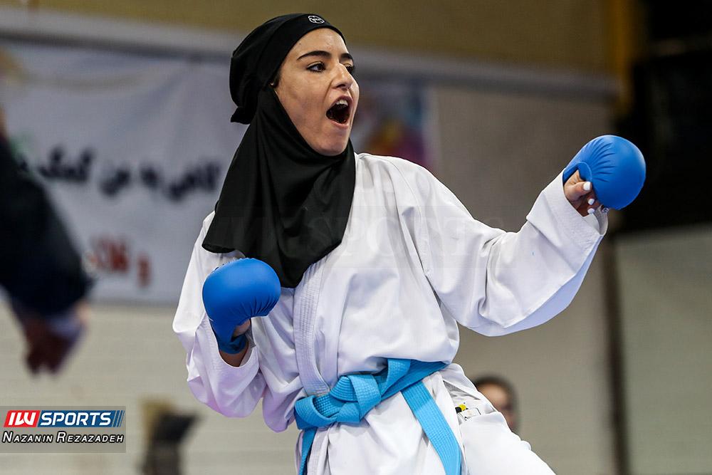 هفته سوم سوپر لیگ کاراته بانوان 2 گزارش تصویری | مبارزات کومیته هفته سوم سوپرلیگ کاراته بانوان