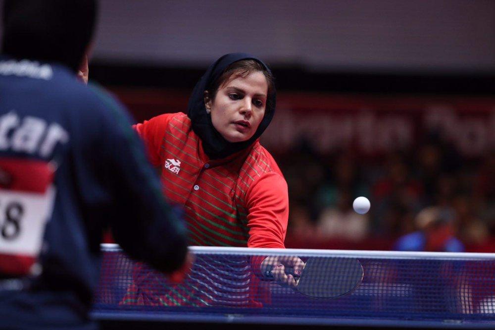 شانس دختران پینگ پنگ باز ایران برای راهیابی به المپیک : بسیار کم !