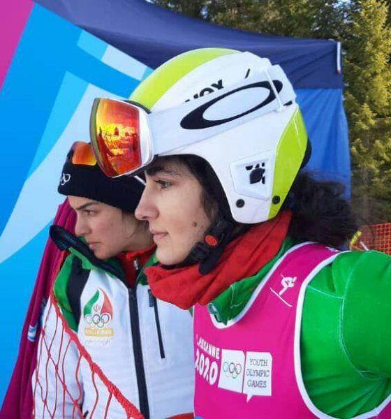آرتمیس حسینی 560x600 دختران برفی ؛ رکسانا ساوه شمشکی و آرتمیس حسینی اسکی بازان ایران در المپیک جوانان