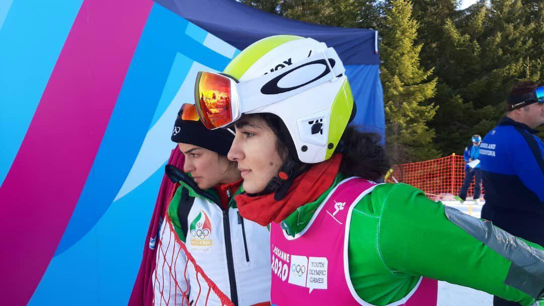 دختران برفی ؛ رکسانا ساوه شمشکی و آرتمیس حسینی اسکی بازان ایران در المپیک جوانان