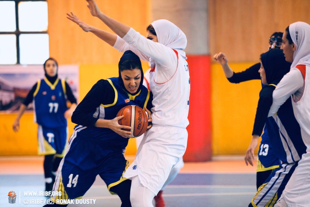 دومین بازیکن بلند قامت لیگ بسکتبال در مهرام