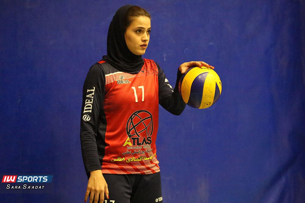اطلس و ذوب آهن اصفهان در لیگ برتر والیبال بانوان 8 گزارش تصویری | دیدار تیمهای اطلس و ذوب آهن در لیگ برتر والیبال بانوان