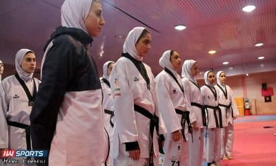تمرین تیم ملی تکواندوی بانوان 400x240 دخترها سرباز به دنیا می آیند