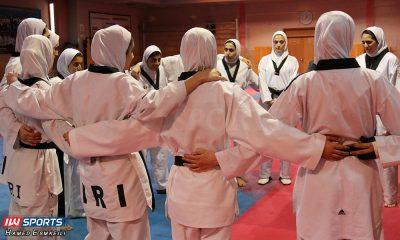 تمرین تیم ملی تکواندوی زنان 400x240 انتخابی تیم ملی تکواندو بانوان | ۱۱ تکواندوکار در اردوی نهایی تیم ملی باقی ماندند
