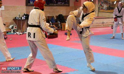 تمرین تیم ملی تکواندو زینب اسماعیلی البرز 400x240 گزارش تصویری | اردوی تیم ملی تکواندو بانوان در مرکز جهانی تکواندو