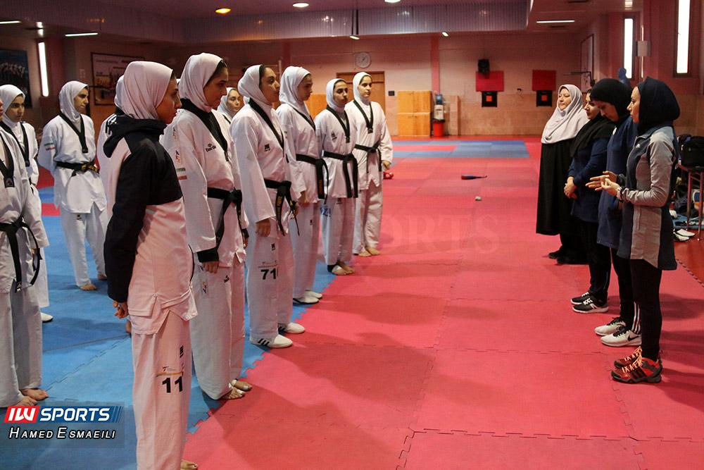 آغاز اردوی دختران ملی پوش تکواندو از ۶ فروردین