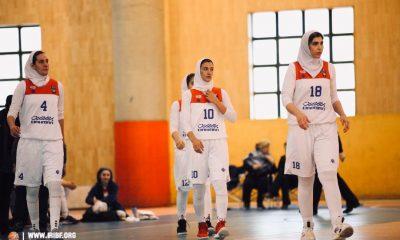 تیم بسکتبال بانوان گروه بهمن 400x240 فریناز طائرپور: عدهای داوران لیگ بسکتبال را تخریب میکنند