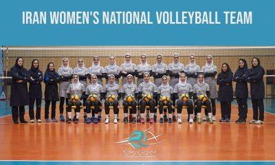 تیم ملی والیبال بانوان ایران 400x240 تیم ملی والیبال بانوان در انتخابی المپیک | هدف کسب تجربه است و بس